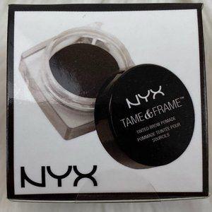 4/$20 NYX Tame & Frame Tinted Brow Pomade Black